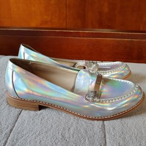 Victoria's Secret Holographic loafers